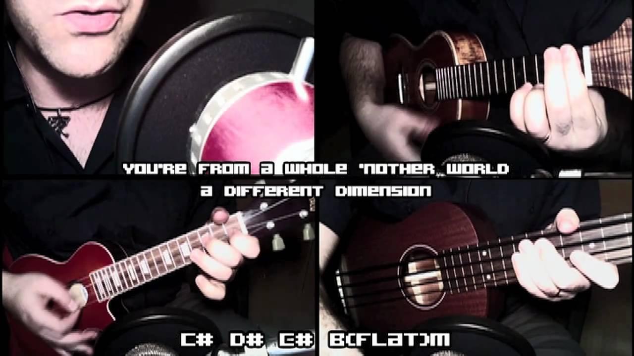 Katy Perry Et Ukulele Cover With Lyrics And Chords Youtube