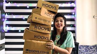 The BIGGEST Koovs Sale Try-On Haul | Heli