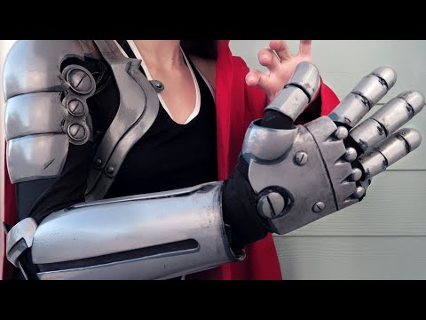 3D Printed Automail and Edward Elric Costume Design Discussion