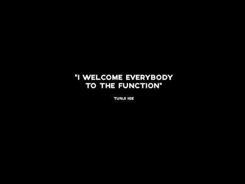 Tunji Ige - Function (Official Video)
