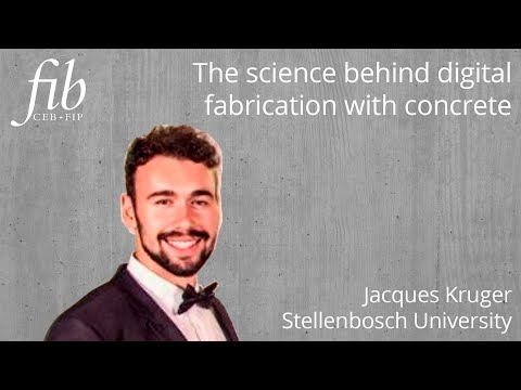 Digital Fabrication | The Science Behind Digital Fabrication With Concrete | Jacques Kruger