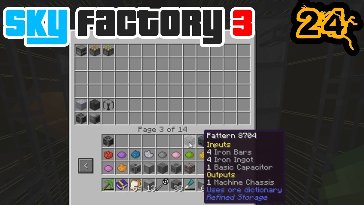 SUPER AUTO CRAFTING + Quite A Bit of Grind (Tinkers) | Minecraft: New Sky  Factory 3 Ep  24