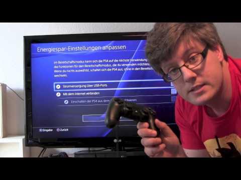 PlayStation 4 anschließen
