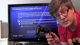 PlayStation 4 anschließen und einrichten
