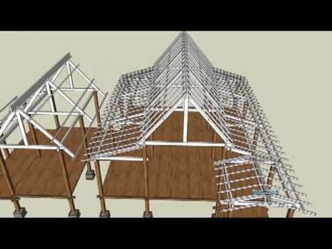 binaan rumah melayu tradisional youtube