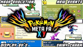 POKEMON META FIRE RED XY (GBA) | ROM HACK WITH MEGA EVOLUTION,DISPLAY IV'S,NEW EVENTS & GEN 7!