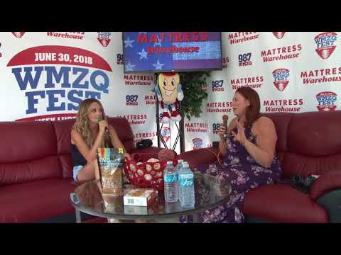 Carly Pearce Backstage Interview at WMZQ Fest 2018 (VIDEO)