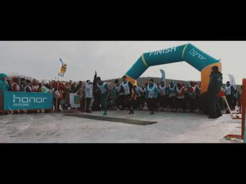 FOR THE BRAVE Honor Vladivostok Ice Run 2017 отчетный фильм