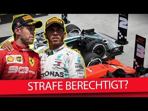 War die Strafe gegen Vettel berechtigt? - Formel 1 2019 (News)