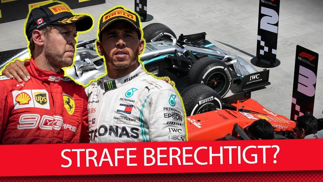 Formel 1 Vettel Strafe