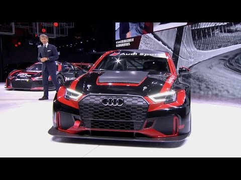 Audi Sport at Auto Shanghai 2017 (Press Conference Highlights)