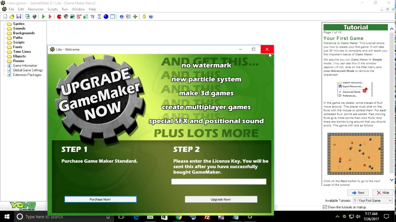 how to get game maker for free