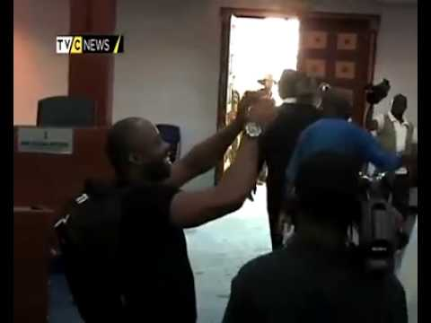 lawmakers fight in portharcourt, rivers state, nigeria