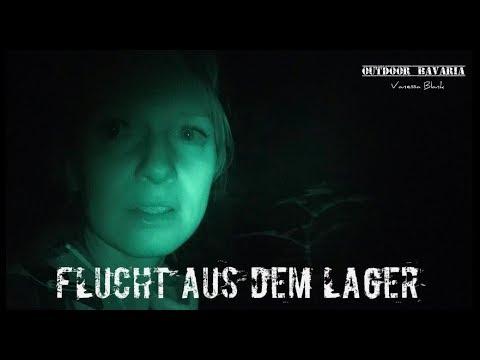 Vanessa auf Solotour - Panikattacke im Wald - Abbruch und Flucht - Outdoor Bavaria