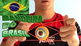 aprenda a fazer a bandeira do brasil com ioiô - yoyo york