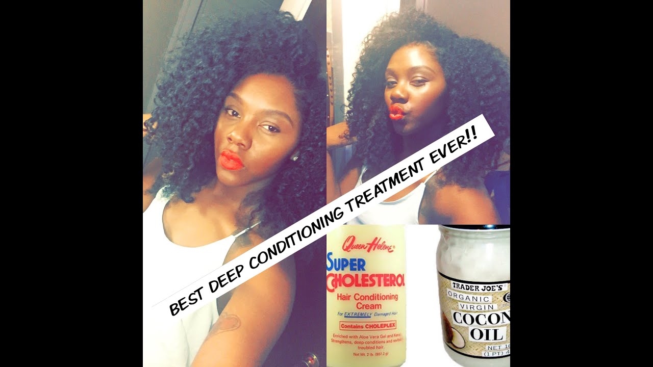 Natural Deep Conditioning Treatment For Black Hair