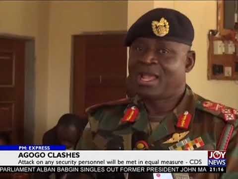 Agogo Clashes - PM Express on JoyNews (16-1-18)