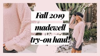 FALL 2019 TRY-ON HAUL | Fall outfit ideas from Madewell!