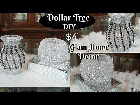 DOLLAR TREE DIY  2 QUICK AND GLAM DOLLAR TREE DIY HOME DECOR IDEAS TO TRY