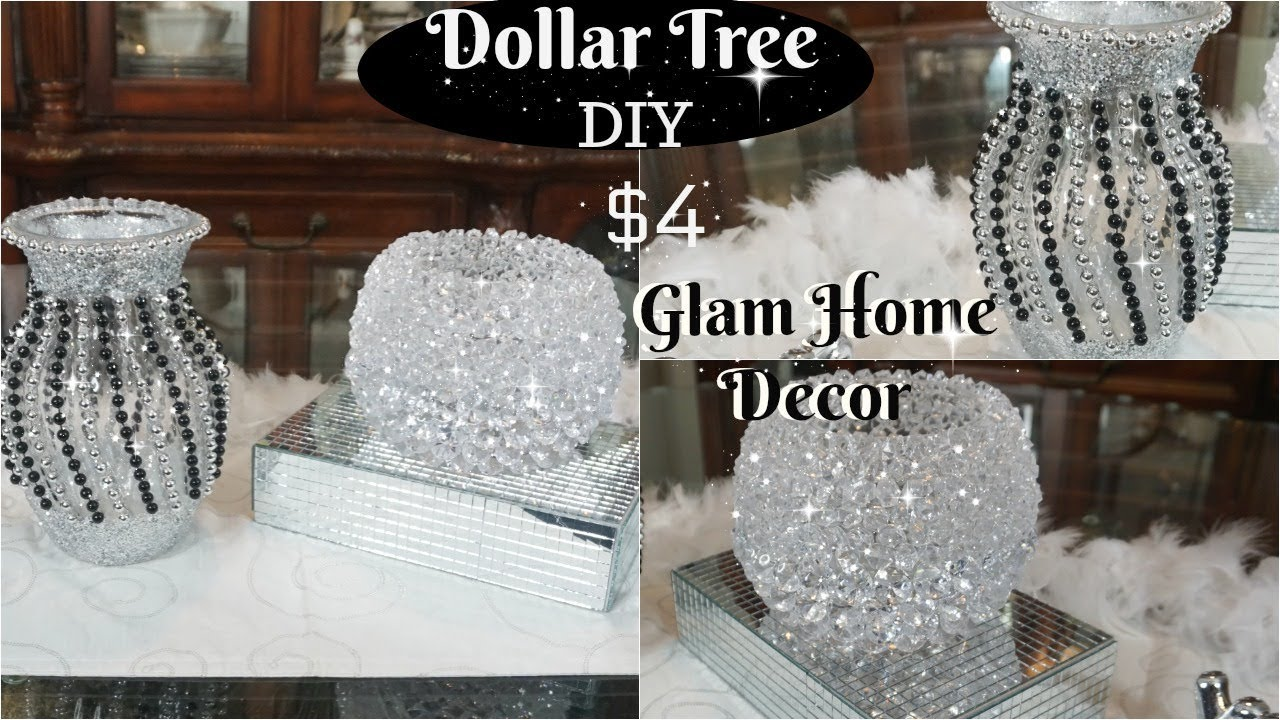 2 QUICK AND GLAM DOLLAR TREE DIY HOME
