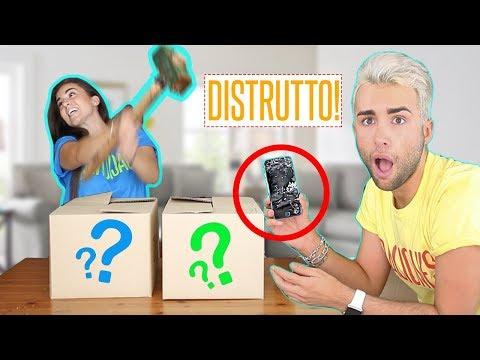 NON DISTRUGGERE QUELLA SCATOLA CHALLENGE! *ADDIO IPHONE* | GIANMARCO ZAGATO