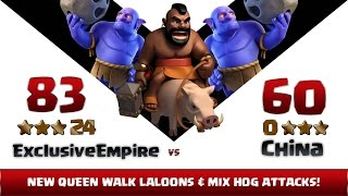 Clash of clans   Exclusive Empire vs China   24:0