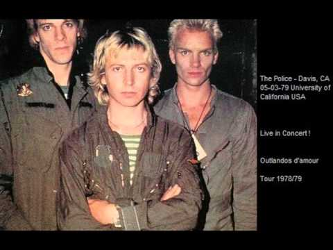 "THE POLICE - Davis, CA 05-03-79 ""UCD Coffeehouse, University of California"" USA"