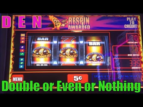 ★SLOT SERIES ! D☆E☆N (30)★Double or Even or Nothing★Hot Hot Super Jackpot / Cash Cave Slot machine/栗