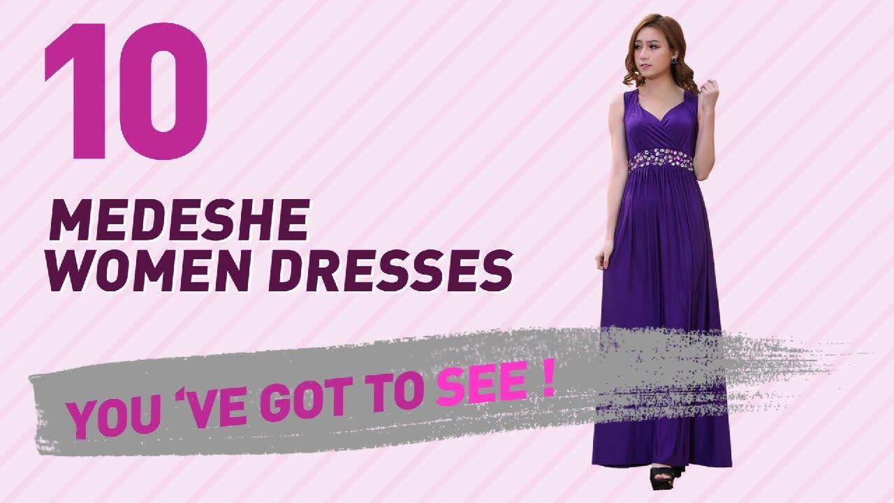 0676b9fd0a Medeshe Women Dresses // New & Popular 2017 - YouTube