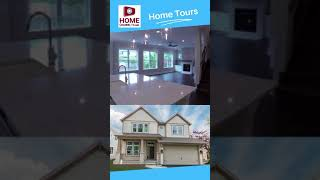 Luxury New Home Tour in Under 1-Minute - House Design Ideas - #shorts