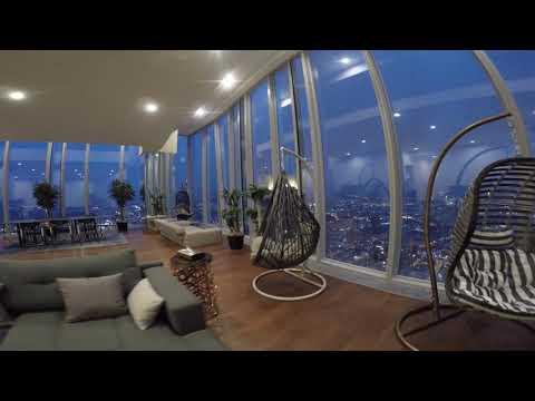 Пентхаус на 82 этаже Москва Сити башня ОКО