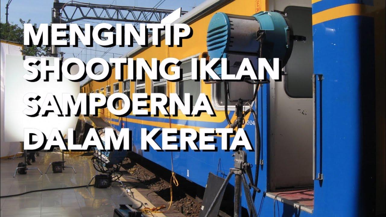 Di Balik Shooting Iklan Sampoerna di Stasiun Manggarai | Pernak-pernik | Kereta Nostalgia