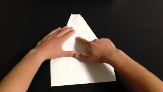 Repeat youtube video 【ギネス世界記録認定】 世界一よく飛ぶギネス認定紙飛行機の折り方!!作り方‼