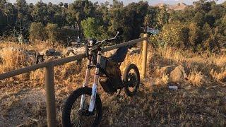 E.R.T. Electric Race Bike 16Kw vs Honda Grom 125cc
