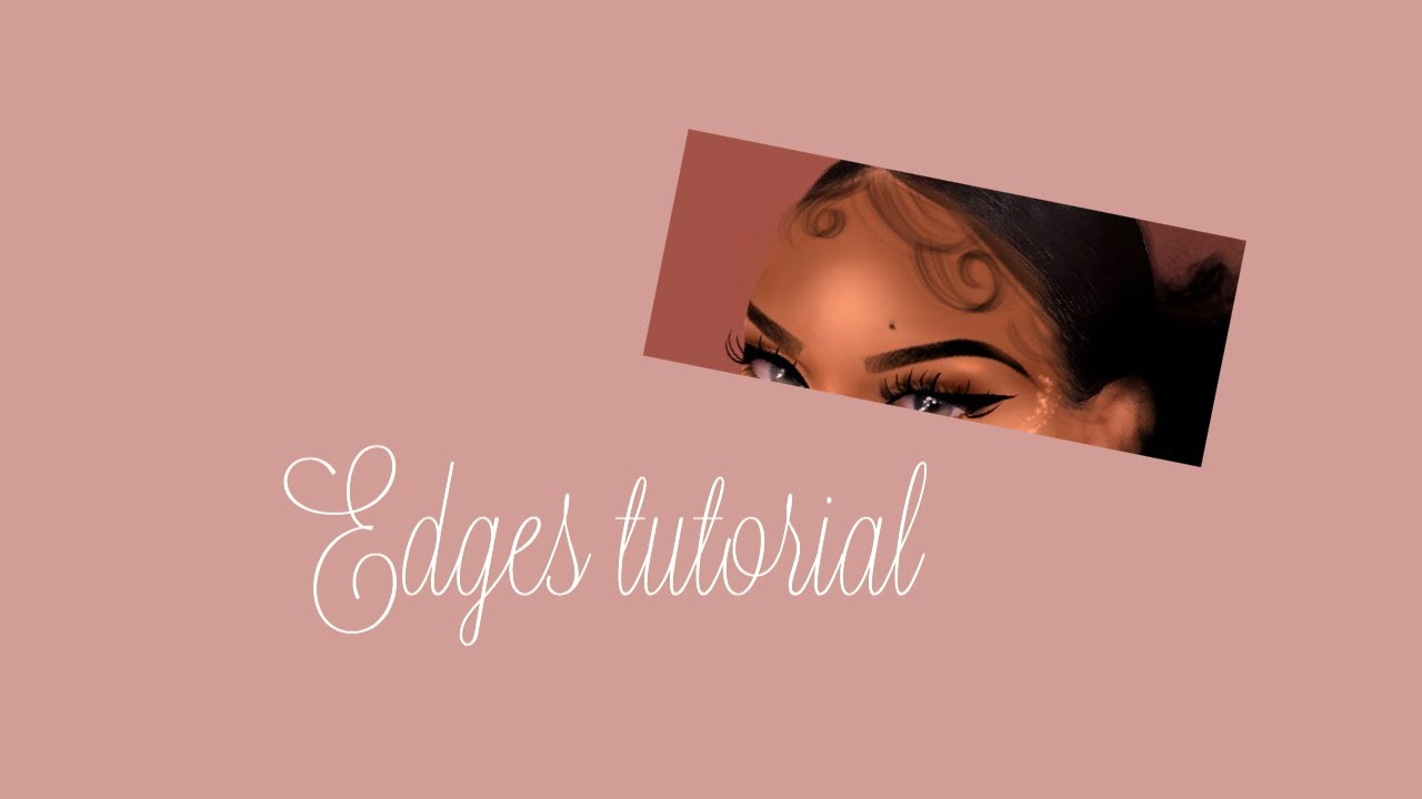 Edges tutorial on IbisPaint-imvu