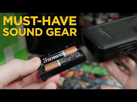 4 Accessories Every Film Sound Mixer Should Own in 2018