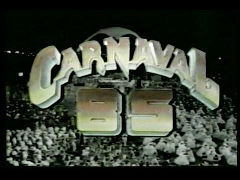 Concentração e Início do Desfile Portela 1985 - Manchete