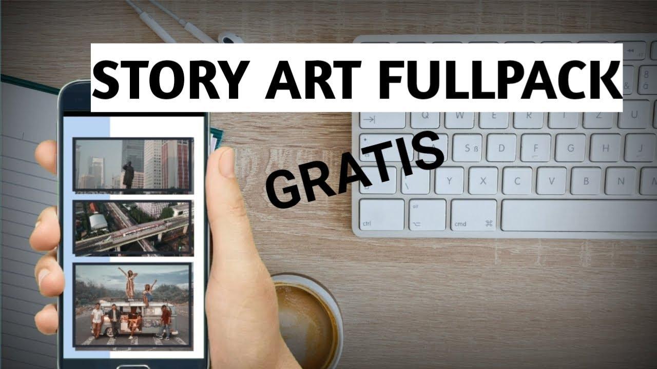 Cara Dapatkan Aplikasi Story Art Fullpack