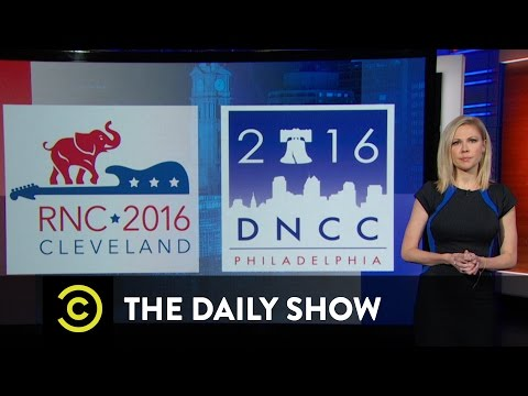 Exclusive - Preparing for the Conventions: The Daily Show