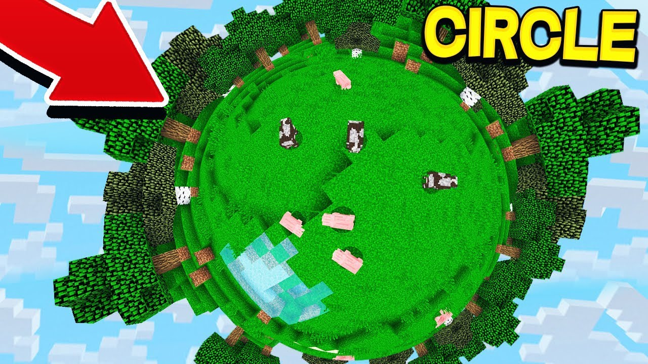 How to build: columns, circles, spheres and domes in ... |Minecraft Circe
