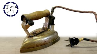 Antique Electric Iron Restoration