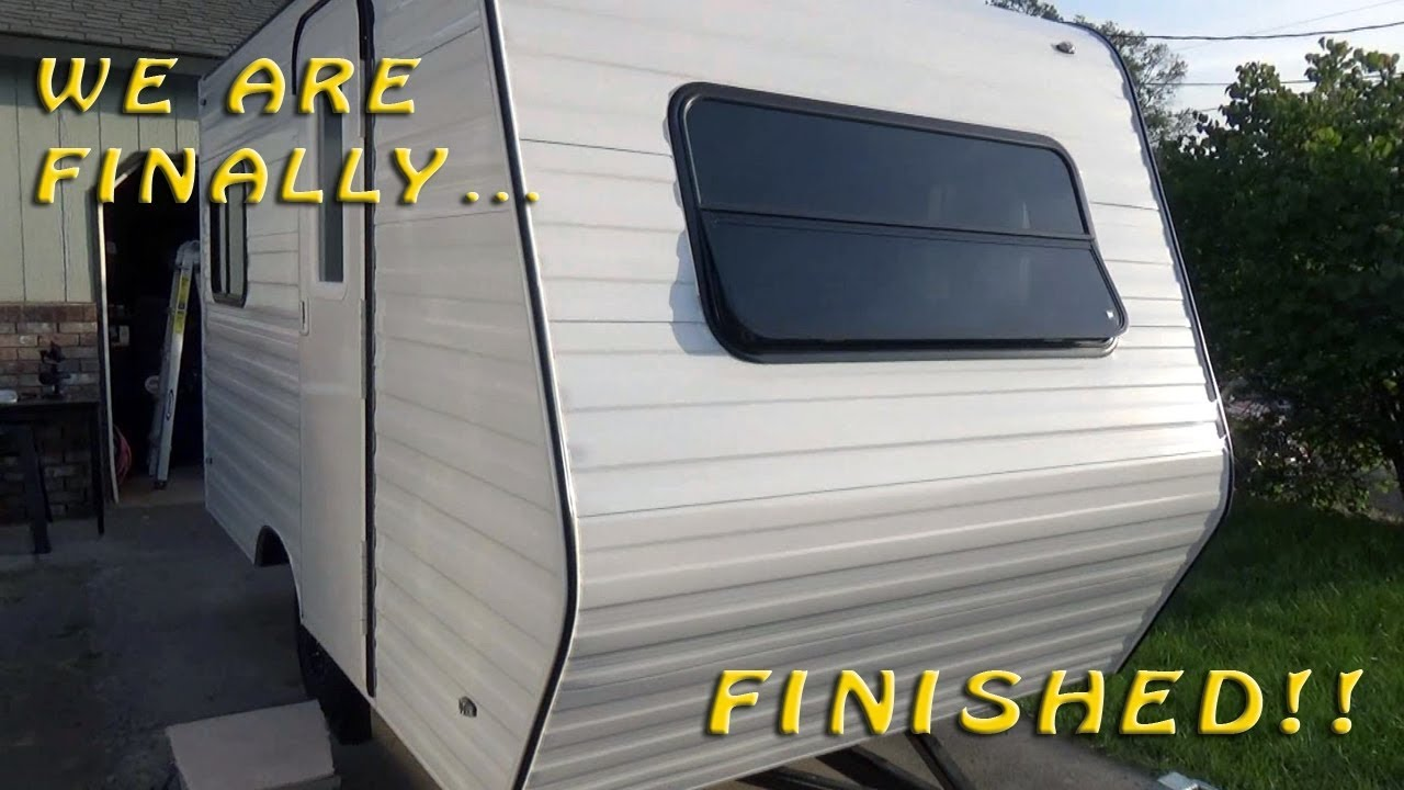How To Build A DIY Travel Trailer - Part 85 (The Build is Finished!)