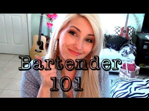 How to Be a Bartender