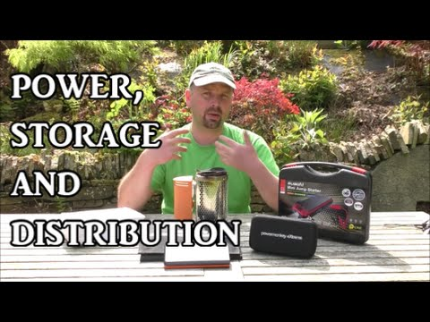 Power, Storage and Distribution - Camping / Prepping / Survival