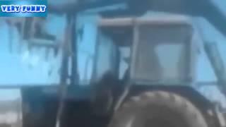 Прикольное видео часть 47 - Дед на мотоцикле. Смешное видео. Приколы с животными
