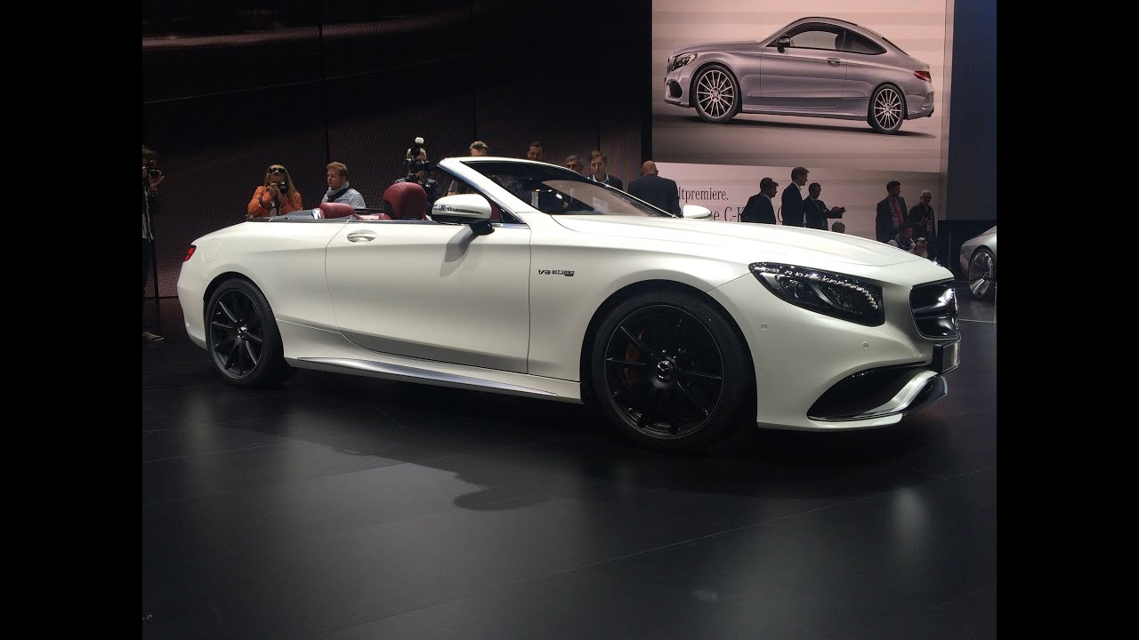 mercedes s klasse cabrio c klasse coupe a klasse smart cabrio highlights iaa 2015 youtube. Black Bedroom Furniture Sets. Home Design Ideas