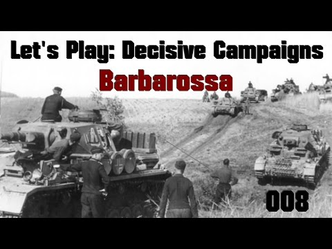 Let's Play Decisive Campaigns: Barbarossa (Germany) Part 008: Grodno Falls, Minsk In Our Sights!