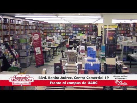 Librer a universitaria tv spot youtube for Libreria universitaria