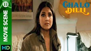 Lara Dutta all teared up - Chalo Dilli