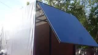 Синяя подъёмная створка 2